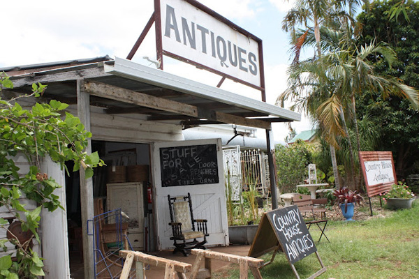 Antique store near Byron Bay
